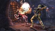 Cyrax vs Kung Lao