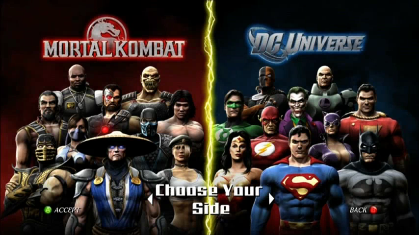 Image result for mortal kombat vs dc universe