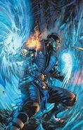 MORTAL KOMBAT X ISSUE 1 COVER SUB-ZERO