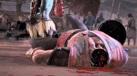 MKX Kotal Kahn Tight Squeeze Fatality
