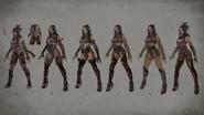 MK Mileena Concept Art 4