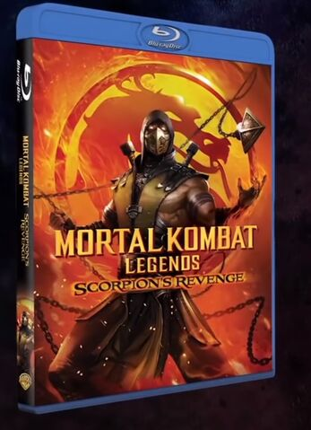 Mortal Kombat Legends Scorpion S Revenge Animated Movie Gets A Trailer Release Date