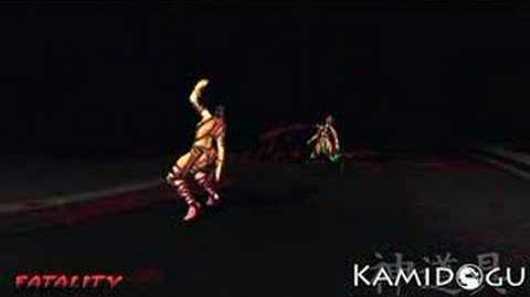 Mortal Kombat Deception Mileena's Fatality 2