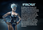 Frost. MKDA bio 2
