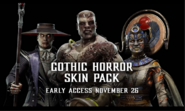 MK11 Gothic Horror Skin Pack