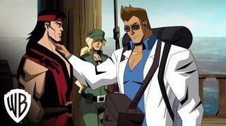 "Mortal Kombat Legends Scorpion's Revenge ""Meet Johnny Cage"" clip Warner Bros. Entertainment"