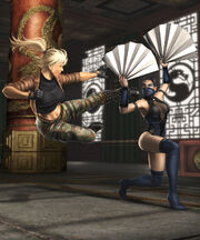 Render kitana sonya fight
