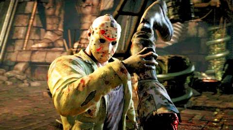 "Mortal Kombat X Jason ""Sleeping Bag Killer"" Fatality"