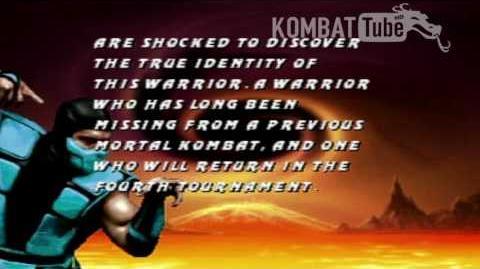 MK III Ending- SUB-ZERO A