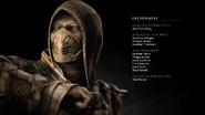 MKX credits Scorpion