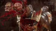 "MK 11 Geras ""Phasing Through Time"" Fatality"
