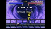Cyrax victory in flawless