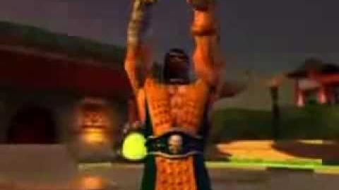 Scorpion Kata MK Deadly Alliance