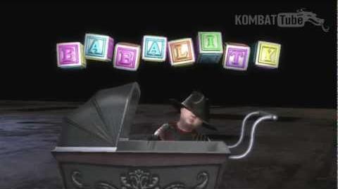 MK9 Freddy Krueger Babality