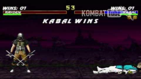 MK III Kabal Animality