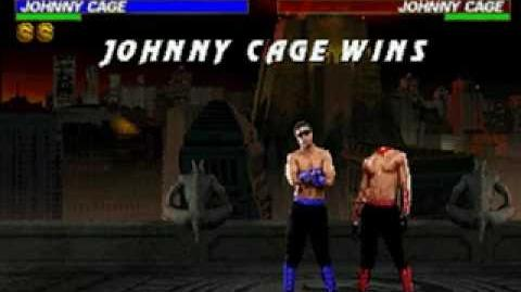 Mortal Kombat Trilogy - Fatality 2 - Johnny Cage