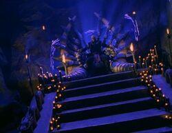 Shao Kahn's Throne Room (MK Conquest)