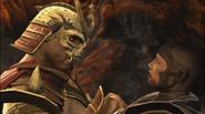 Shao Kahn vs Raiden
