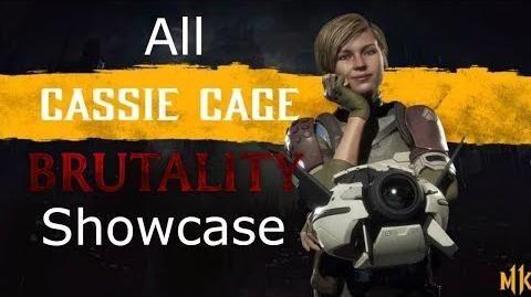 Mortal Kombat 11 - Cassie Cage All Brutalities