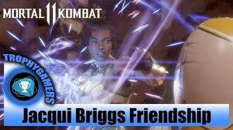 Mortal Kombat 11 Jacqui Briggs Friendship