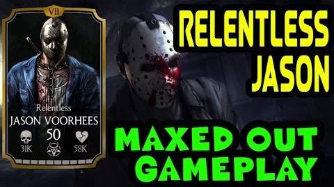 Relentless Jason Voorhees MAXED OUT in MKX Mobile. Stats, moves and specials gameplay.