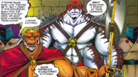 Kintaro in the comics