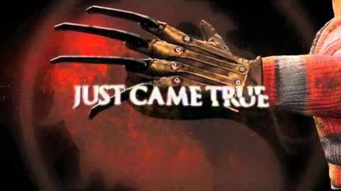 Mortal Kombat - Freddy Krueger TV Trailer (PS3, Xbox 360)