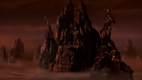 Mountain on Shang Tsung's Island