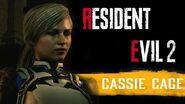 Resident Evil 2 Remake - Cassie Cage 1