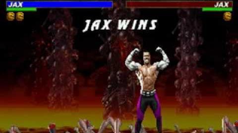Mortal Kombat Trilogy - Brutality - Jax