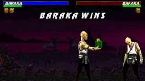 Mortal Kombat Trilogy - Friendship - Baraka