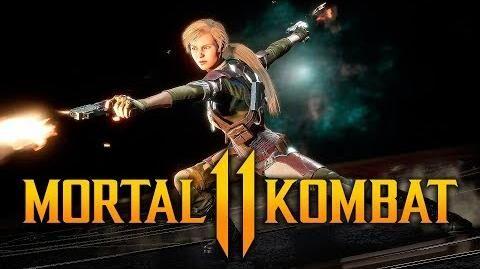 Mortal Kombat 11 - Cassie Cage Intros & Victories