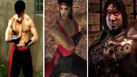 Liu Kang All Victory Poses - MK1 to MKX