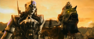 MKX Quan Chi Intro Moloch Head