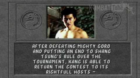 MK I Ending- LIU KANG