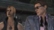 Johnny Cage flirts with Sonya - Cópia