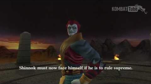 MK-Armageddon Ending- Shinnok