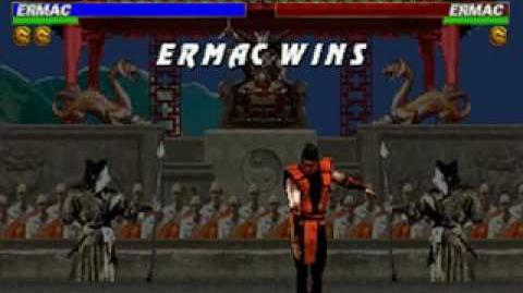 Mortal Kombat Trilogy - Friendship - Ermac