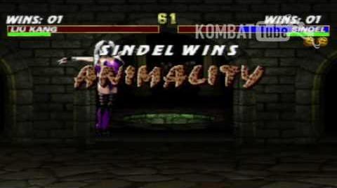 MK III Sindel Animality