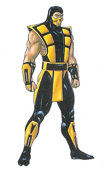 image scorpion artworkjpg mortal kombat wiki fandom