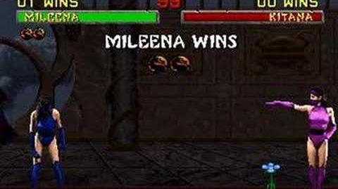 Mortal Kombat II - Friendship - Mileena