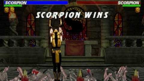 Mortal Kombat Trilogy - Brutality - Scorpion