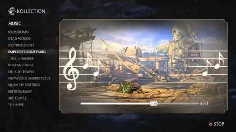 Mortal Kombat X OST - Emperor's Kourtyard