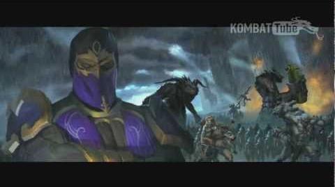 MK9 Ending- RAIN