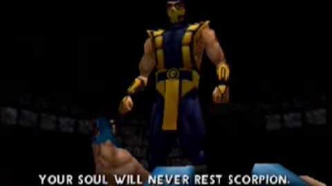 Mortal Kombat 4 - Scorpion Ending - N64