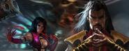 Mileena & Shang Tsung