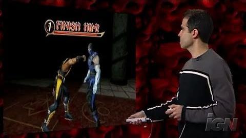 Mortal Kombat Armageddon Nintendo Wii Trailer - Ed Boon