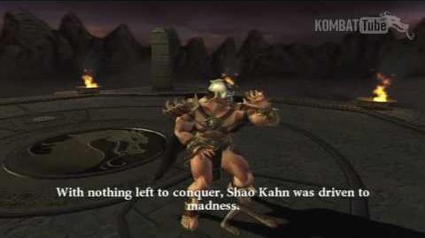 MK-Armageddon Ending- Shao Kahn