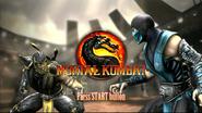 Mortal Kombat 9 press start