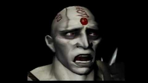Mortal Kombat Deadly Alliance - Quan Chi Voice Testing! Funny!
